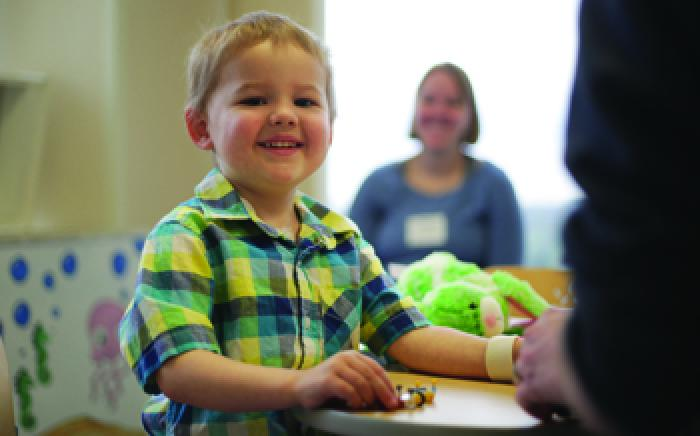 Meet Liam: Doing his Part to Put Away the Bad Guys, Childhood Leukemia