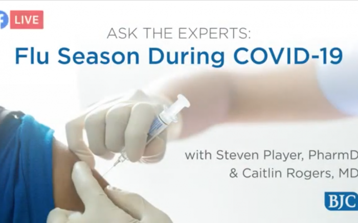 Ask the Experts: Flu Season During COVID-19