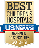 Best Children's Hospitals - US News Banner Image